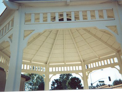 Being inside the Malibu Style Gazebo is the best Part!