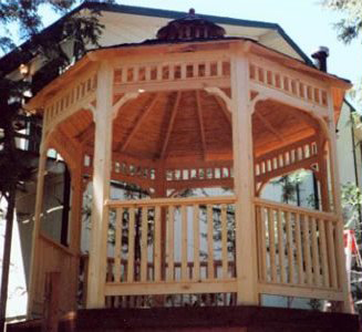 "There is only one way to describe this 10′ Malibu Style Gazebo… ""Naturally Beautiful""."