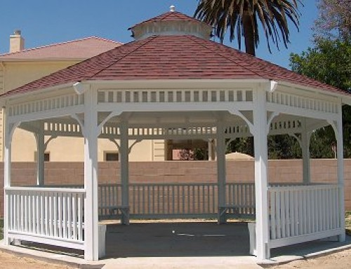 This 18′ Custom Malibu Style Gazebo was done for a new city park in Loma Linda, CA.