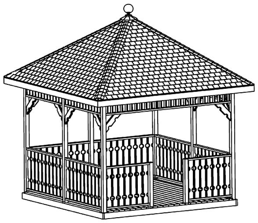 gazebo instructions