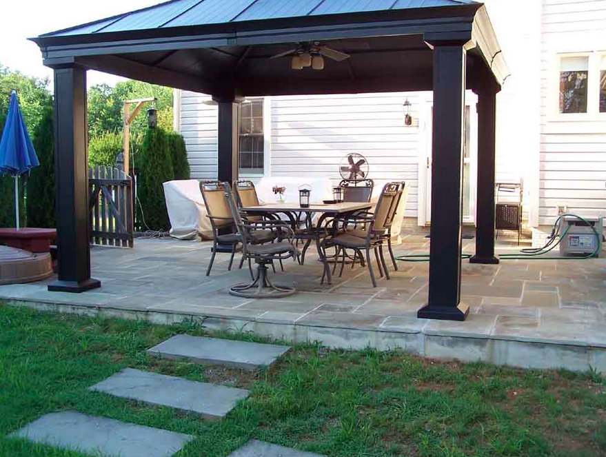 Gazebos for sale gazebo one for Pavilion style home designs